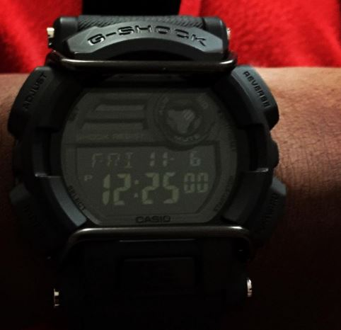 G Shock GD-400 Negative Display